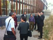 Dans le cadre du projet H2020, le CAR/PP a organisé une visite de site sur la Gestion Durable de Sites  Industriels à Marseille